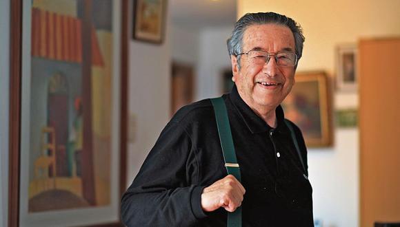 Marco Martos Carrera es considerado uno de los principales representantes de la Generación del 60 en la poesía peruana. [Foto: Dante Piaggio]