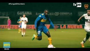 Luis Advíncula vuelve a entrenar con el Boca Juniors