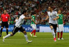 ¡Alemania finalista de la Copa Confederaciones! Goleó 4-1 a México