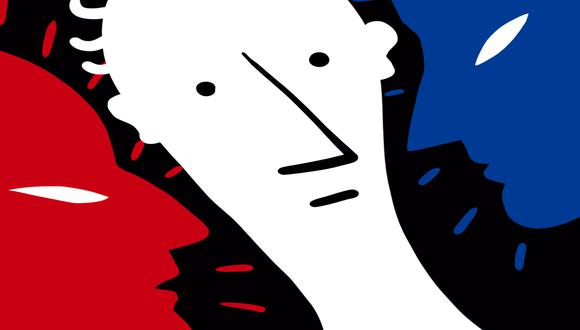 """""""Es más probable que las propuestas de solución sean aceptadas cuando provienen de alguien que no es una de las partes en conflicto que cuando provienen de un rival"""", considera Kahhat. Ilustración: Giovanni Tazza"""