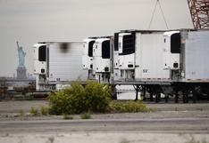 Nueva York aún tiene unos 750 cuerpos de víctimas de coronavirus en camiones frigoríficos