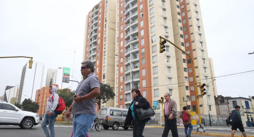 La oferta de departamento en Lima se encuentra en un 70% en planos. (Foto: Andina)