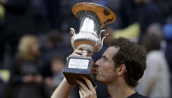 Andy Murray venció Novak Djokovic y ganó ATP de Roma