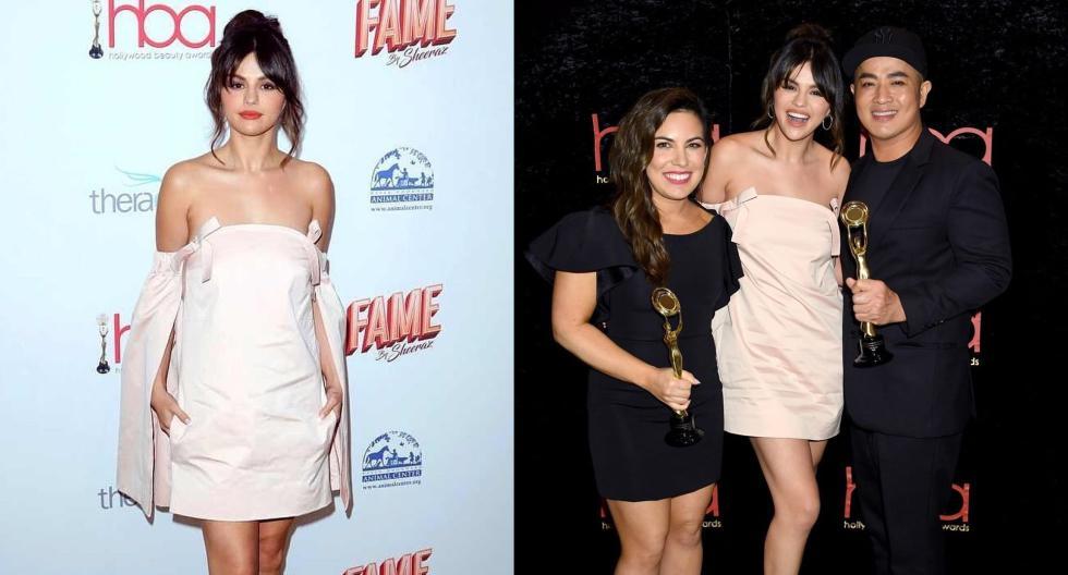 Selena Gomez ha conquistado los Hollywood Beauty Awards de la mano de todo su equipo glam. En esta galería, conoce los detalles. (Fotos: IG/ @selenasanonymous)