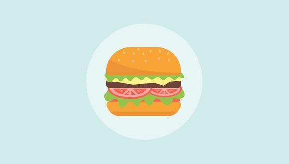 6. Hamburguesa sin carne de res: alternativas de carne de origen vegetal y de laboratorio que podrían reducir las emisiones de la industria alimentaria. (Foto: Pixabay)