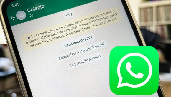 ¿Sabes cuál es la multa por agregar a alguien a un grupo de WhatsApp sin su permiso? (Foto: MAG)