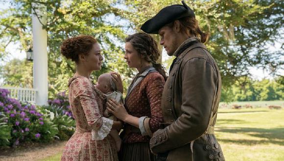 """¿Qué pasará con Claire, Jamie y su familia en la quinta temporada de """"Outlander""""? (Foto: Starz)"""