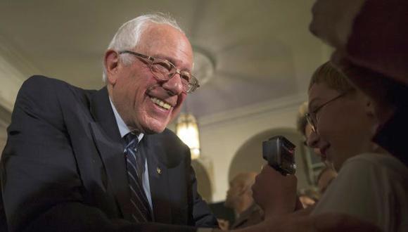 Bernie Sanders recauda US$20 millones en un mes y bate récord