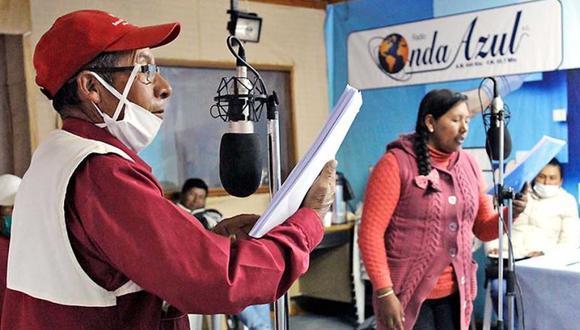 La radionovela Esperanza de Vida fue producida por radio Onda Azul, con la co financiación de Innóvate Perú, del Ministerio de Producción.