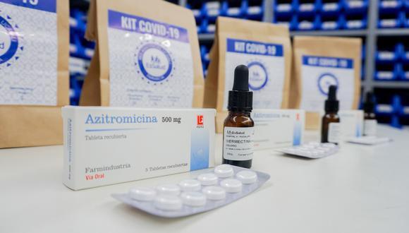 Hidroxicloroquina, ivermectina y azitromicina fueron retirados de la guía de tratamiento para pacientes COVID-19 en hospitalización. (Foto: Essalud)