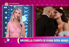 Brunella Horna evita responder sobre rumores de embarazo de Ivana Yturbe