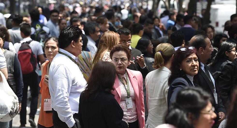 El Macrosimulacro busca que las personas se preparen ante un posible movimiento telúrico. (Foto: AFP)