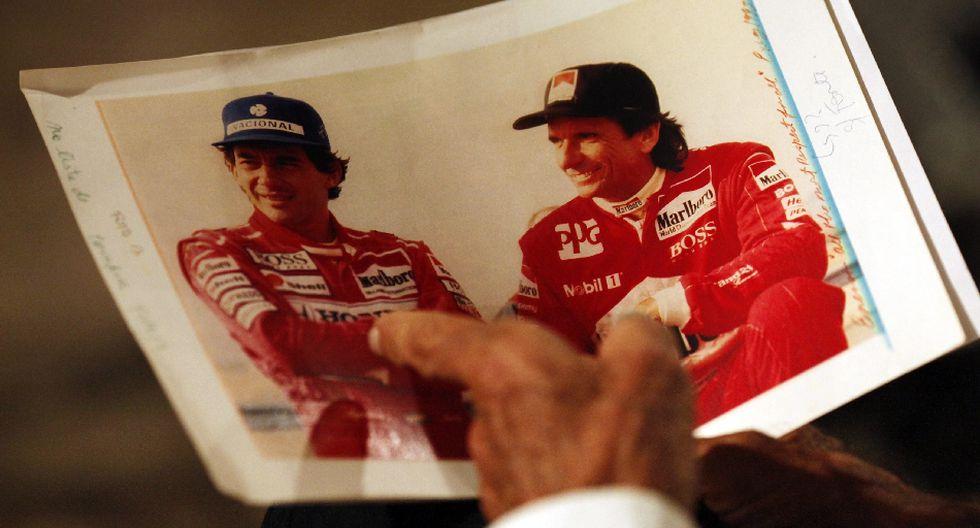 Ayrton Senna, las imágenes que recuerdan al mito brasileño - 7