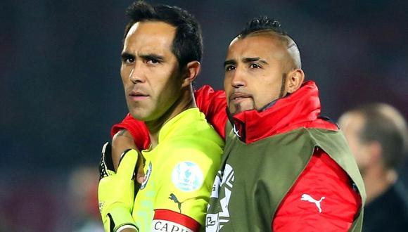 Los problemas entre Arturo Vidal y Claudio Bravo iniciaron en el 2018.