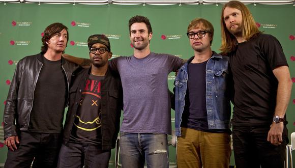 Maroon 5. (Foto: AFP)