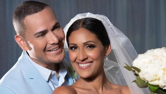 Víctor Manuelle se casó tras 13 años de relación con Frances Franco. (Foto: @victormanuelleonline)