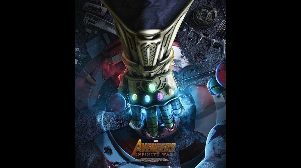 """La D23 Expo sigue llenando de sorpresas a los fanáticos del universo Marvel. Este sábado se reveló el primer afiche de lo que será """"Avengers: Infinity War"""","""