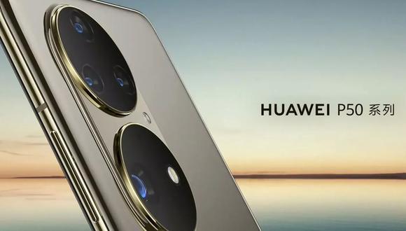 Conoce todos los detalles del Huawei P50, celular que fue mostrado brevemente por Huawei. (Foto: Captura)