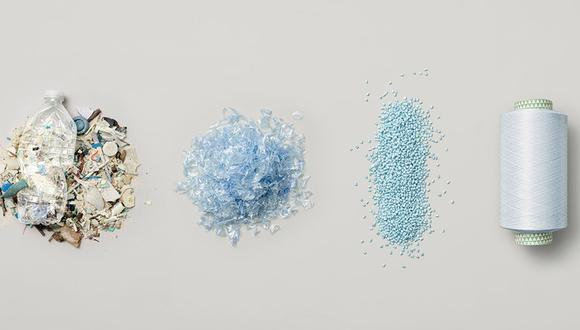 """""""En el 2018, se produjeron alrededor de 359 millones de toneladas métricas de plásticos en todo el mundo"""". (Foto: parley)"""