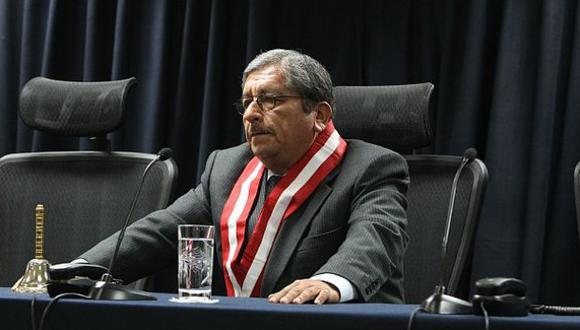 Julio Gutiérrez Pebe estaría implicado en posibles irregularidades en procesos de elección de jueces y fiscales. (Foto: El Comercio)