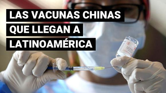 What Chinese vaccines are available in Latin America?