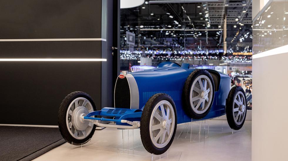 Se trata del Bugatti Type 35 Baby II, un auto para niños valorizado en 30 mil euros. (Foto: Bugatti).