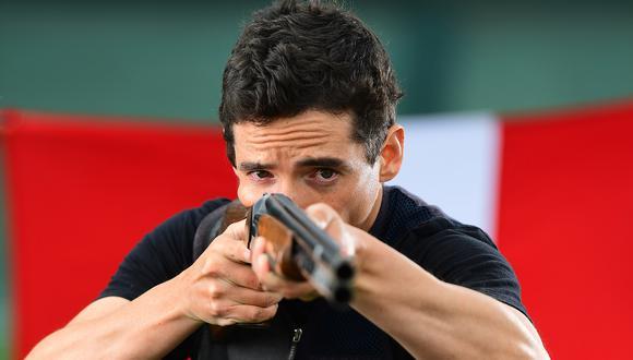 Tirador peruano Alessandro de Souza se alista para debutar en Tokio 2020.
