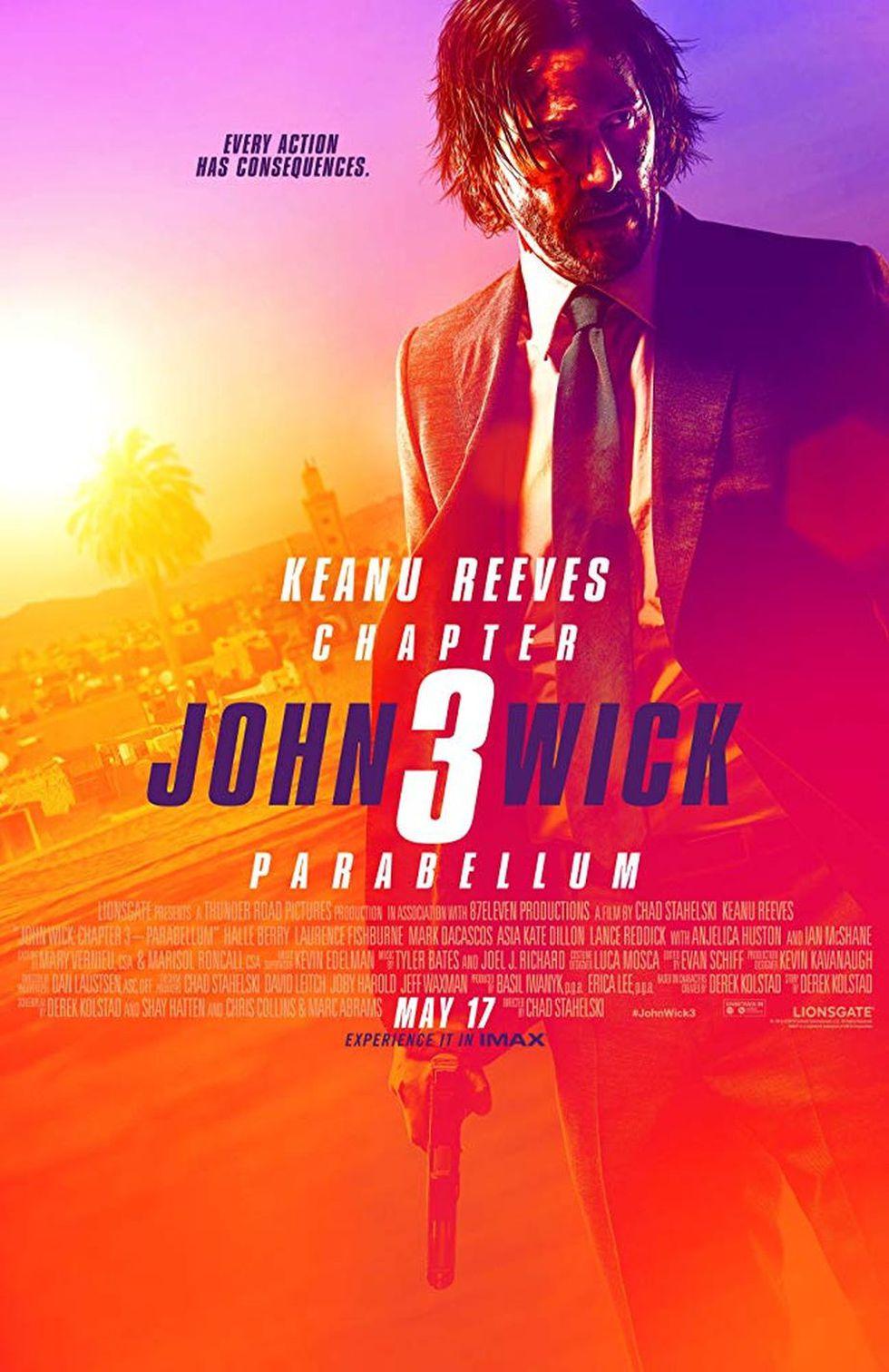 """Póster oficial de """"John Wick 3: Parabellum"""" (Foto: Lionsgate)"""
