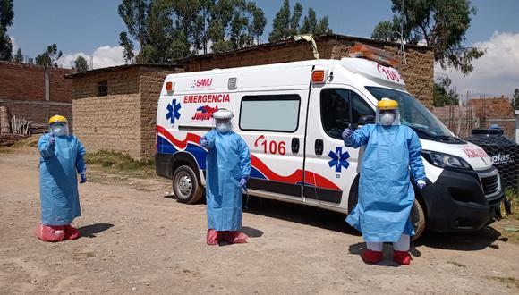 Médicos recorren calles para atender a personas que no cuentan con seguro de salud (Foto: Diresa Junín)