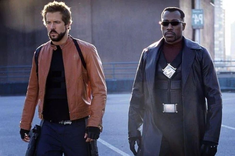 Ryan Reynolds and Wesley Snipes in