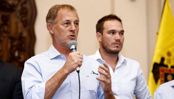 Alcalde de Lima se pronunció sobre el caso de George Forsyth, quien denunció que ha recibido constantes amenazas por parte de mafias. (Municipalidad de Lima)