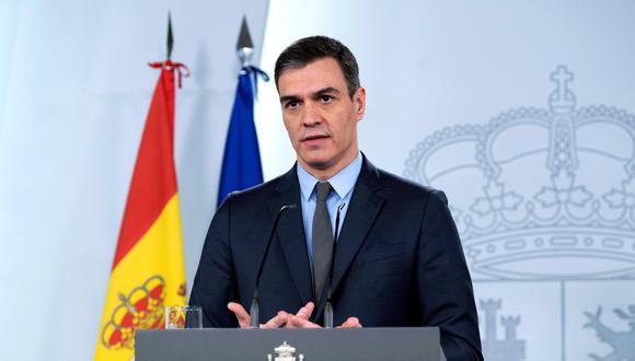 Coronavirus en España: Pedro Sánchez pedirá al Congreso prorrogar el estado de alarma hasta 26 de abril. (EFE/EPA/Borja Puig de la Bellacasa).