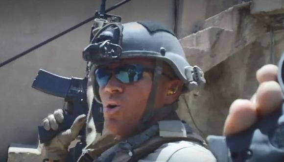 Un video promocional de Silvercorp presenta a Jordan Goudreau en distintas labores de seguridad. (Silvercorp).