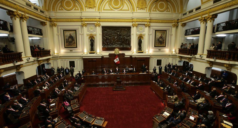 El pleno del Parlamento también impidió otras importantes fuentes de financiamiento posible. (Foto: Archivo El Comercio)