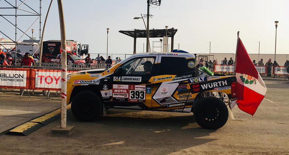 El nacional no pudo partir en el Dakar 2019 debido a problemas con las verificaciones de su camioneta. (Foto: Facebook)