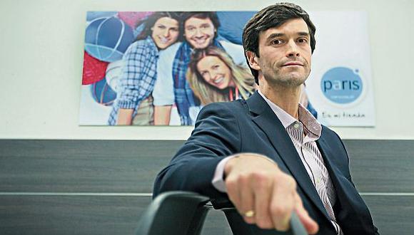 """Felipe Bayly: """"Tiendas Paris está creciendo a costa de otros"""""""