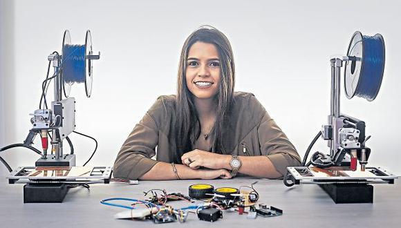 """""""En EE.UU. hay una cultura universitaria orientada a desarrollar tus propios proyectos"""", cuenta. Puede conocer más sobre ellos buscándolos en Facebook como """"UTK United Technologies for Kids"""". (Hugo Pérez / El Comercio)"""