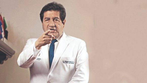 El decano del Colegio Médico del Perú, doctor Miguel Palacios, dio a conocer su punto de vista sobre el probable inicio de la tercera ola del COVID-19 en el Perú   Foto: Archivo El Comercio