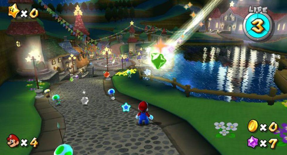 Super Mario Galaxy 1 y 2 (2007-2010). Ambos títulos fueron desarrollados para Nintendo Wii.