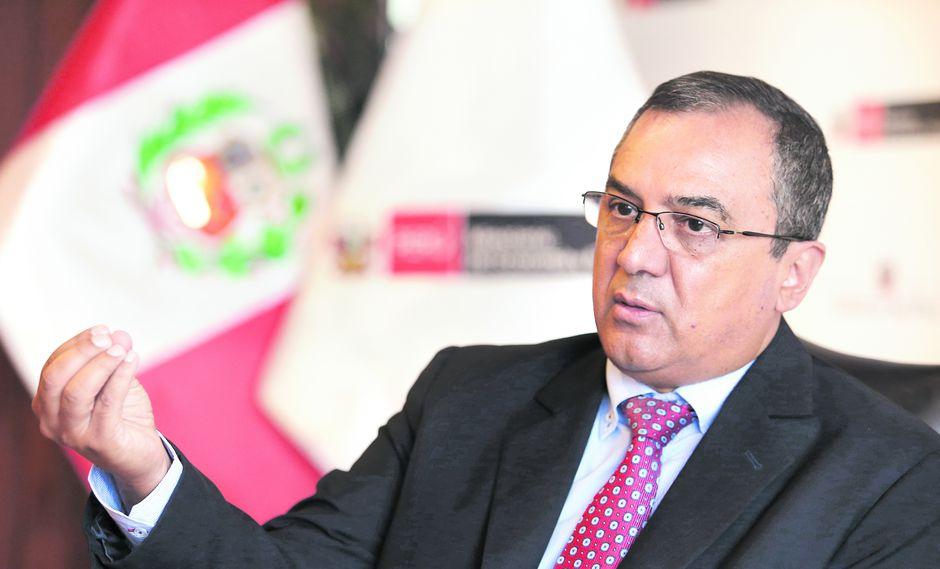 Carlos Oliva, ministro de Economía y Finanzas (Foto: Alessandro Currarino)