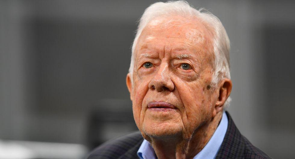 Jimmy Carter, expresidente de Estados Unidos. (Foto: AFP)