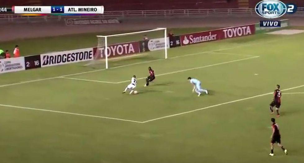 Los errores de Melgar en los goles de Atlético Mineiro - 13