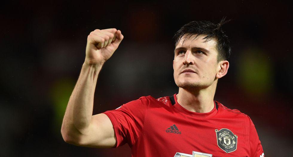 El defensor central Harry Maguire llegó al Manchester United en 2019 proveniente del Leicester City. AFP / Oli SCARFF