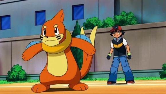 """Buizel fue compañero de Ash en el anime """"Pokémon"""". (Foto: TV Tokio)"""