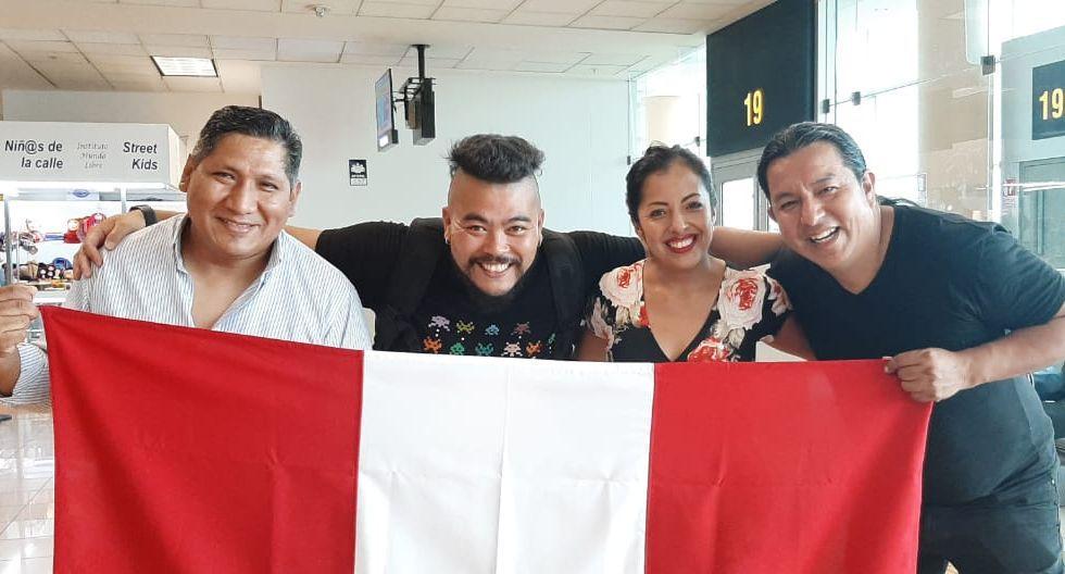 Luz Merly junto a sus músicos. (Foto: Instagram)