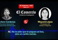 Audios en Junín: la campaña de Perú Libre era coordinada por Los Dinámicos del Centro