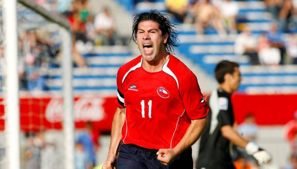 Marcelo Salas jugó con la selección de Chile el Mundial Francia 1998.