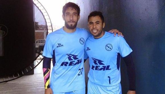 Juan Cominges y Donny Neyra entrenaron con el Boys esta mañana