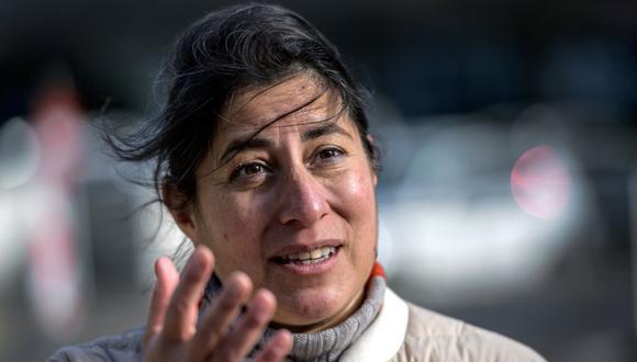Janet Diaz, responsable del equipo clínico de la OMS a cargo de la respuesta al coronavirus. (Foto: Fabrice COFFRINI / AFP).