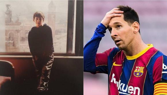 Luego de 7.479 días, Lionel Messi por primera vez no pertece al Barcelona.